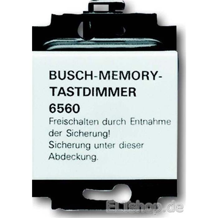 busch jaeger memory tastdimmer 6560 101 116 50. Black Bedroom Furniture Sets. Home Design Ideas